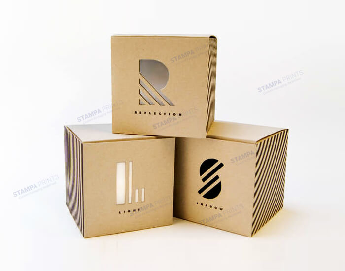 Simplistic and Minimalistic Boxes for Merchandise