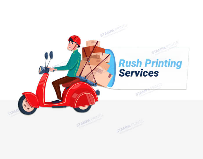 You can avail Rush Printing Services