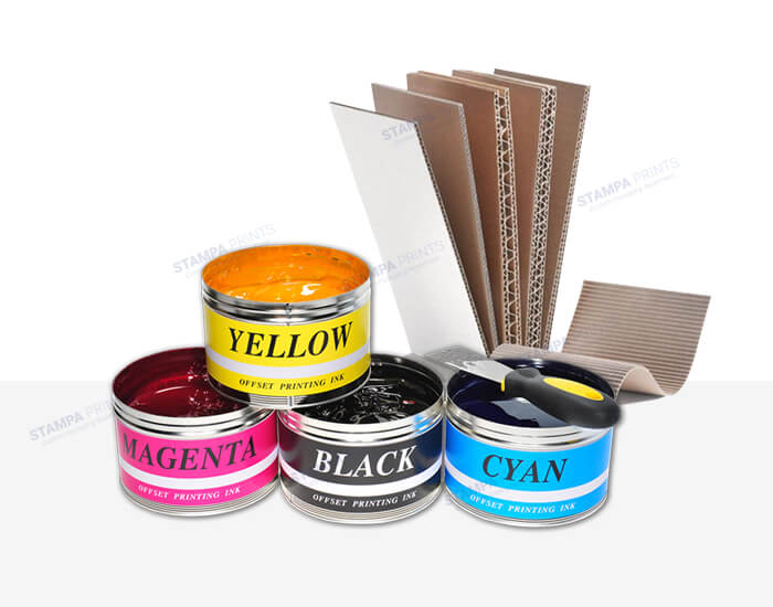 About our Printing Materials and Inks