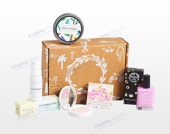Corrugated Shipping Boxes for Makeup Items