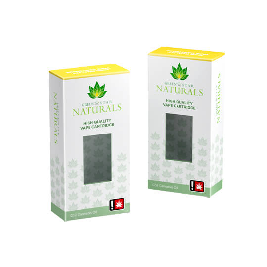 Printed Cannabis Cartridge Packaging Boxes