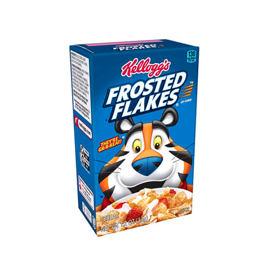 Printed Cereal Boxes