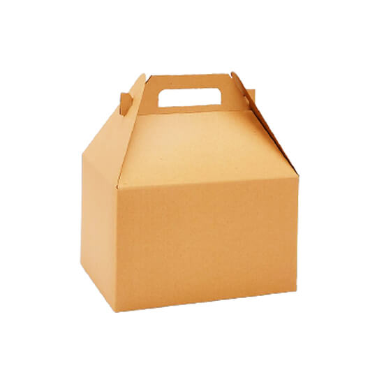 Kraft Gable Boxes Wholesale