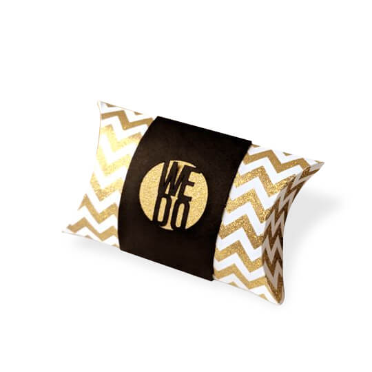 Custom Pillow Favor Boxes